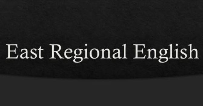 East Regional English