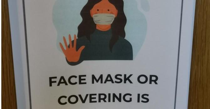 Face Masks Mandatory! image