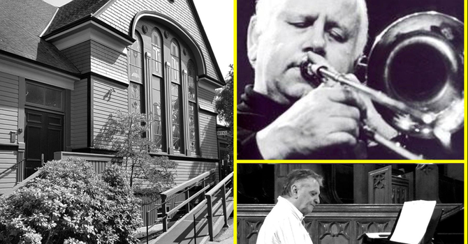 Tuesday Night Jazz at James Bay United Church. 7 PM image