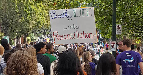 Bringing life to the Church's efforts in Reconciliation