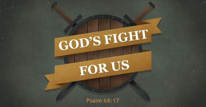 God's Fight for Us
