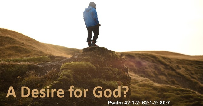 A Desire for God?