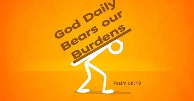 God Daily Bears our Burdens