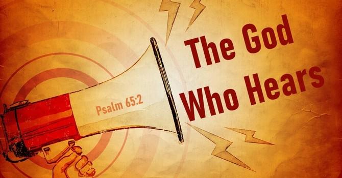 The God Who Hears