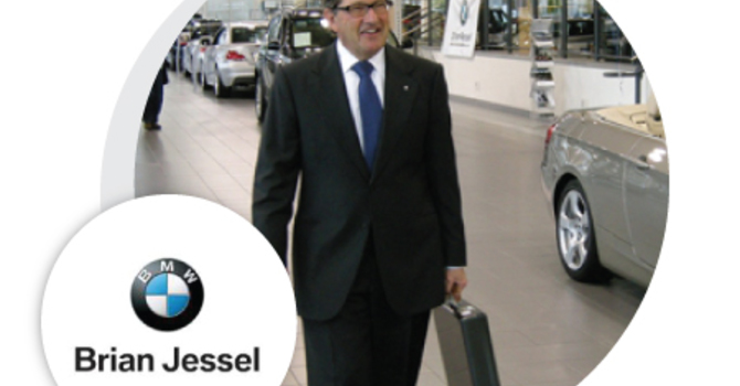 Brian Jessel, Brian Jessel BMW image
