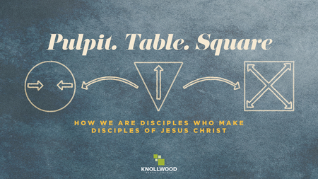 Pulpit. Table. Square.