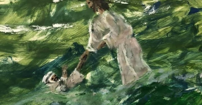 Unraveled:  Peter Sinks in the Water