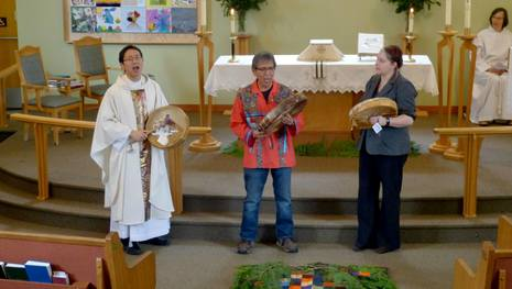 Reconciliation Sunday, April 26th, 2015, Easter III at St Hilda's Sechelt