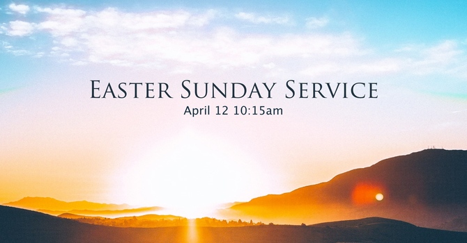 Invite to: Easter Sunday Service image