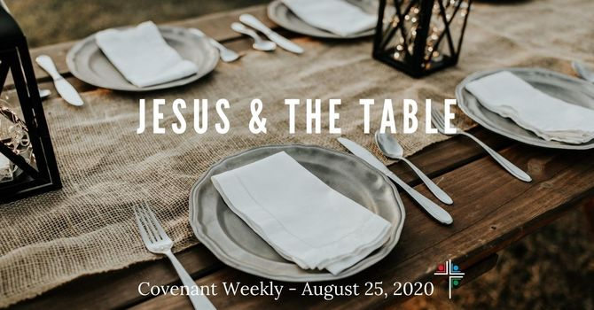 Jesus and the Table image