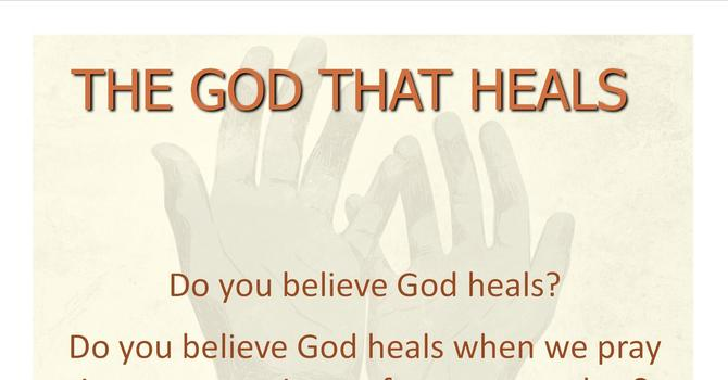 The God That Heals