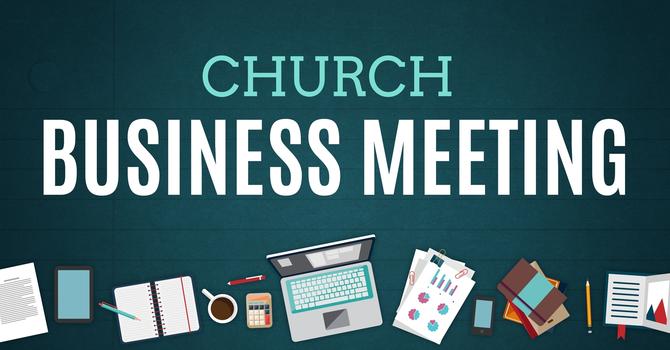 September Business Meeting image