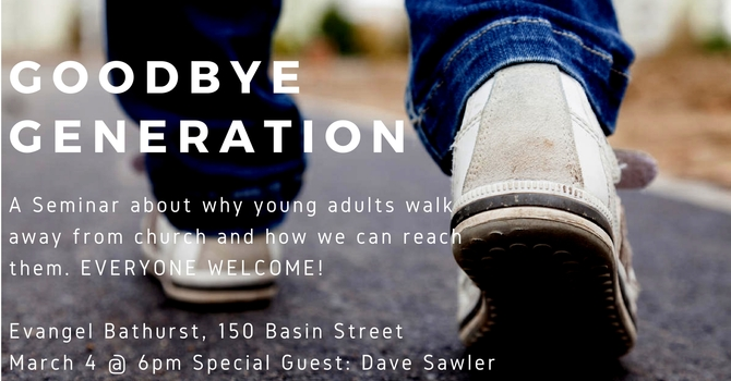 PM Service/ Seminar: Goodbye Generation
