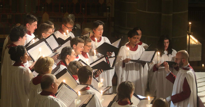Cathedral Music Endowment Fund Matching Campaign Launched image