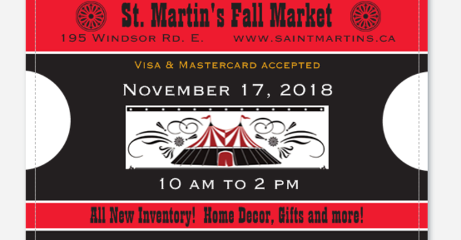 Fall Market - Donations Wanted! image