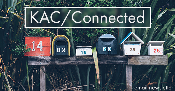 KAC Connected Newsletter image