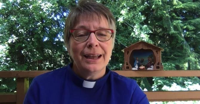Rev Peggy Trendell-Jensen's sermon on St. Mary the Virgin Sunday image