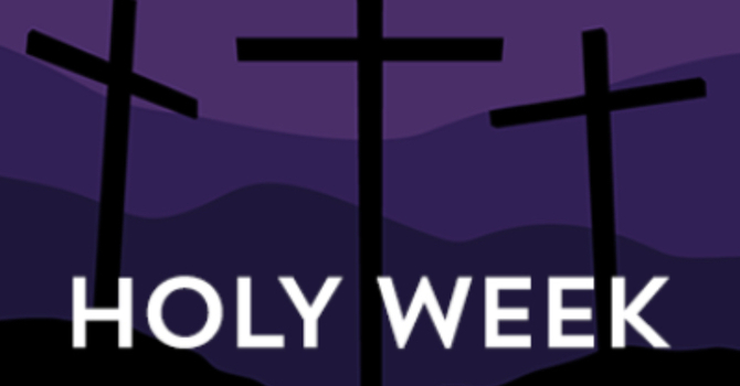 Holy Week Events image