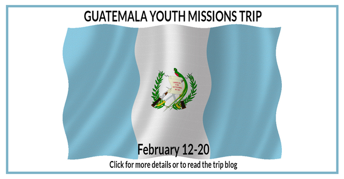 2020 Guatemala Youth Missions Trip image