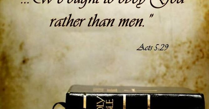 Obey God image
