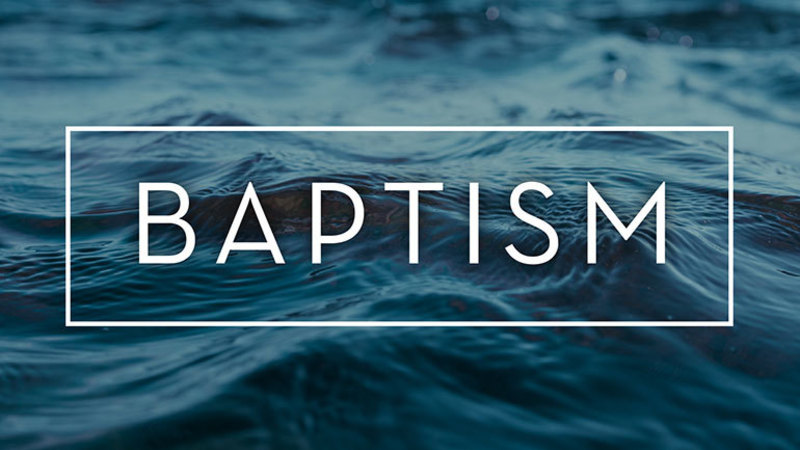 Jesus' Baptism and Ours