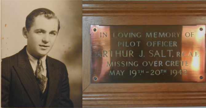 Remembering Arthur Salt image