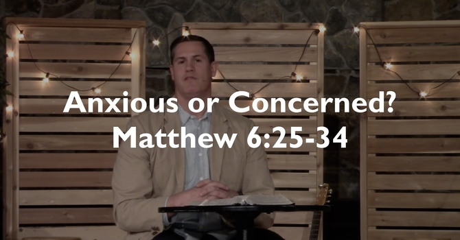 Anxious or Concerned?