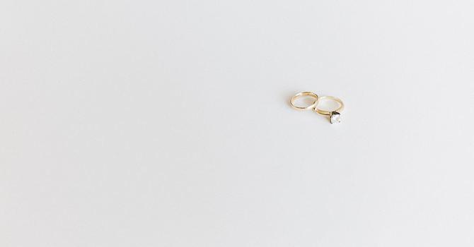Baptism: God's Engagement Ring image