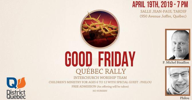 Good Friday Rally image