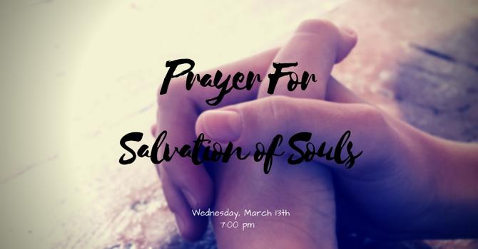 Prayer For Salvation of Souls