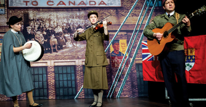"St. David's Parishioner Takes Musical Drama ""Pier 21"" to Halifax image"