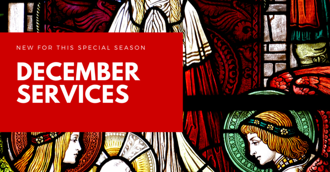 NEW DECEMBER WEEKDAY SERVICES image