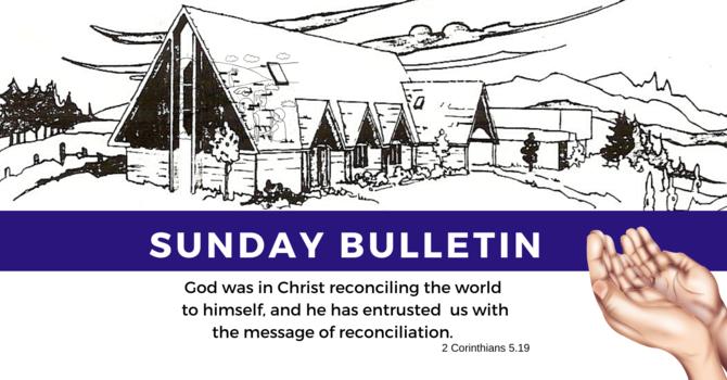 Bulletin - Sunday, October 27, 2019 image