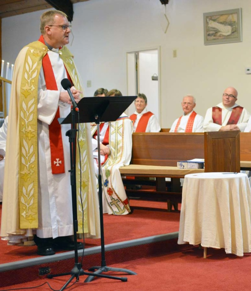 The Induction of the Reverend Faun Harriman as Vicar of St. David and St. Paul - Powell River