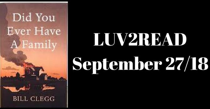 LUV2READ 2018/2019 Book List image