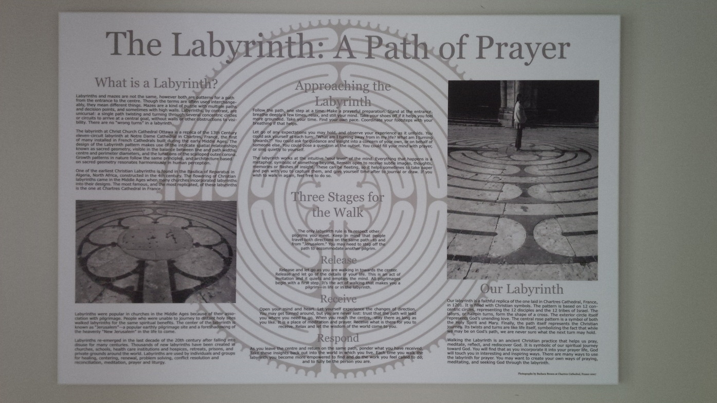 Walk the labyrinth - together or alone | The Labyrinth | Christ