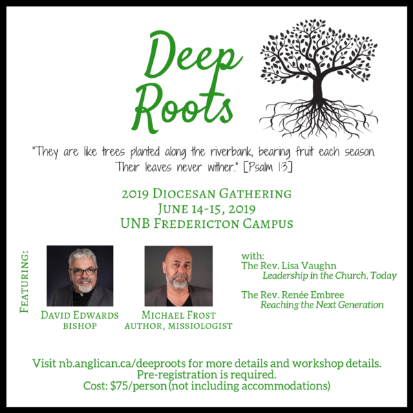 Deep Roots early bird registration ends May 31!