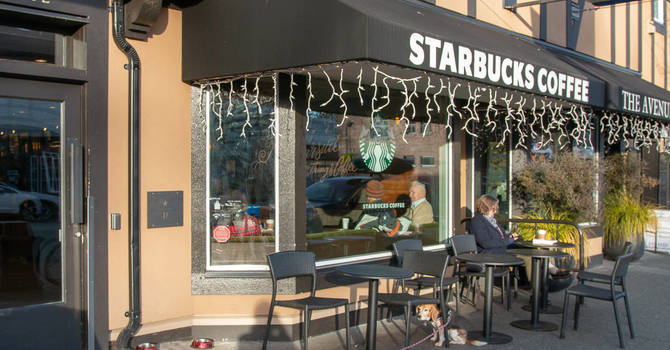A Generous Gift to the Food Bank from Starbucks Oak Bay image