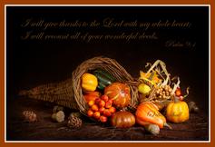 Thanksgiving scripture verse