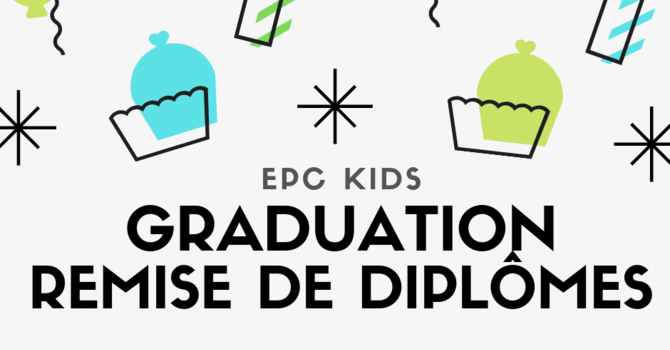 Evangel Kid's Church Graduation image