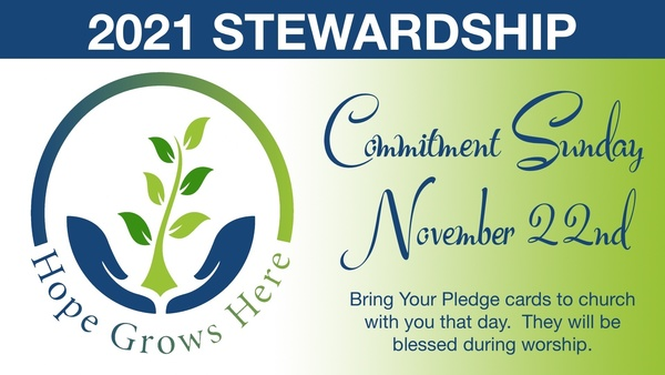 Hope Grows Here -- Stewardship Campaign