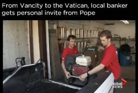 Vancity CEO Tamara Vrooman gets invite from the Pope