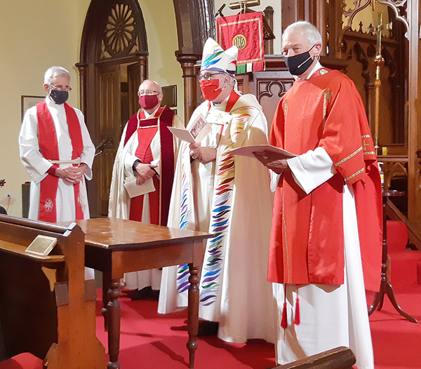 Bob Cheatley ordained in St. Andrews
