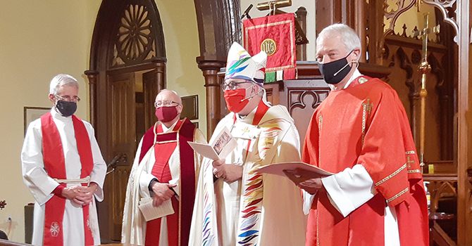 Bob Cheatley ordained in St. Andrews image