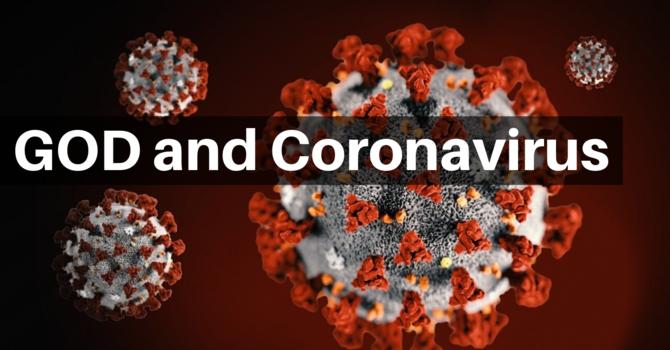 God and Corona Virus image