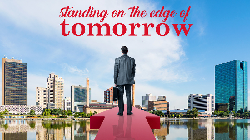 Standing on the Edge of Tomorrow