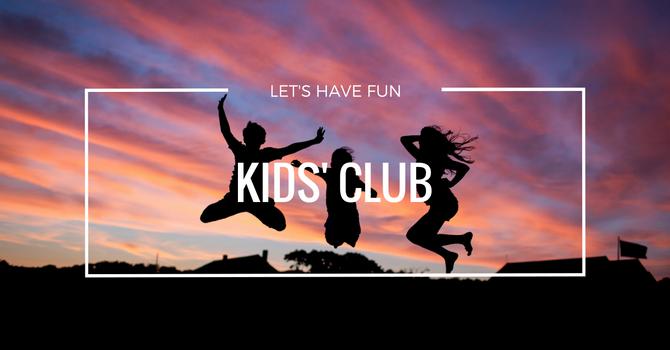 Kids' Club This Fall image