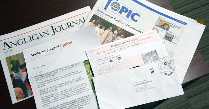 Anglican Journal (AJ/Topic) Appeal image