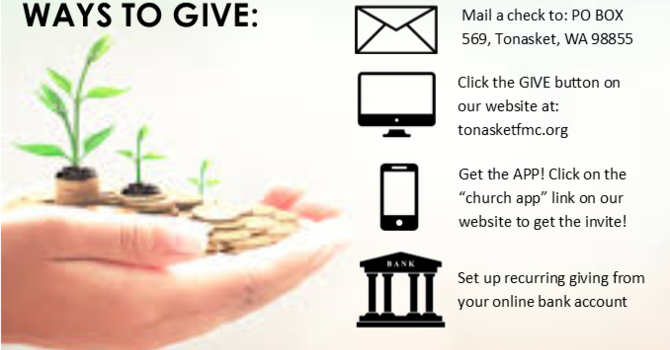 WAYS TO GIVE image