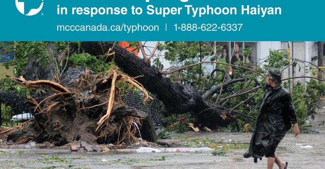 Super Typhoon Haiyan Emergency Relief image